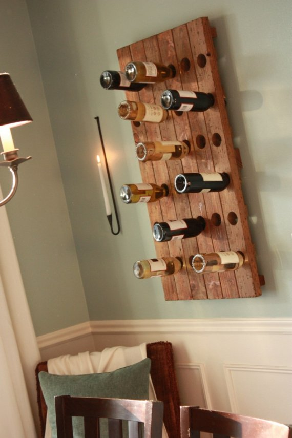 square wine rack plans