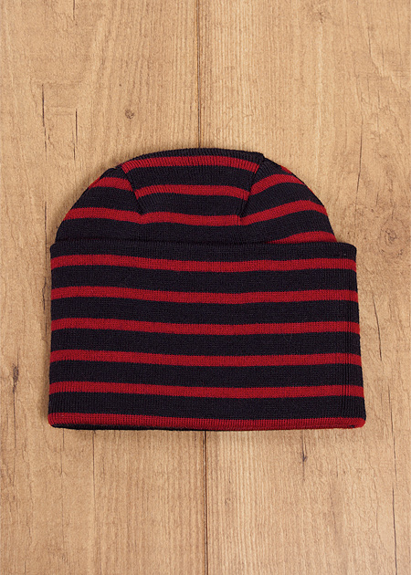 Naval Hat - Navy/Red, $98