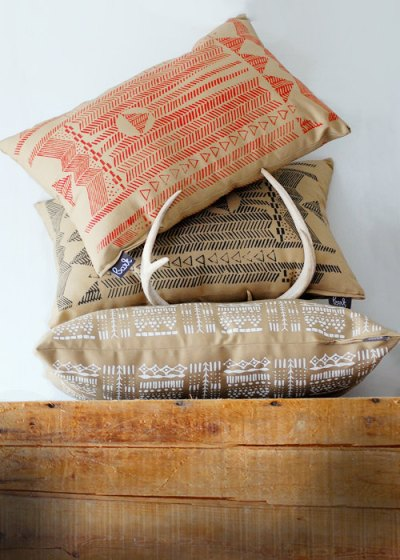 Pillows from Bark Decor