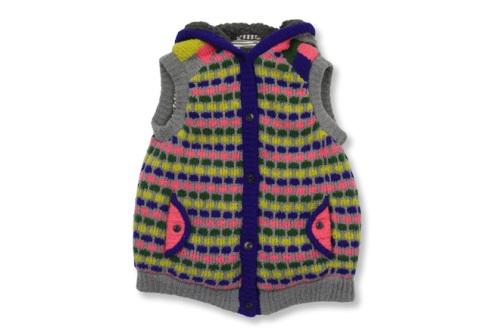 Candy Block Vest