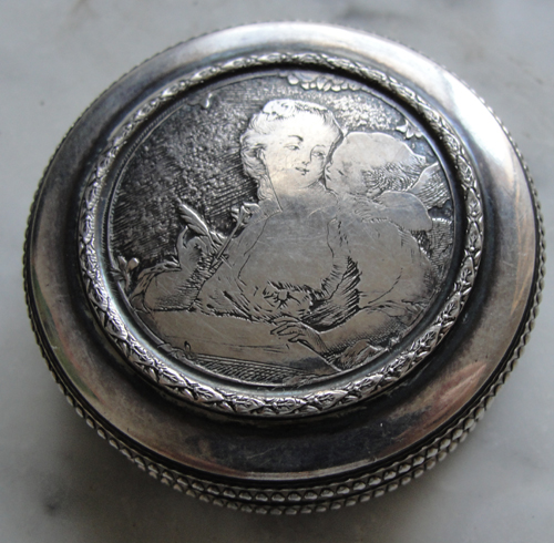 French Angel Ring Box