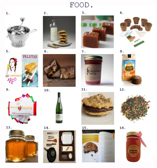 Gift Guide for the FOOD Lover