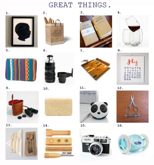 Gift Guide Great Things