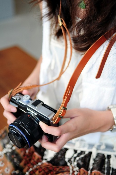 Camera Strap by Artemis Leatherware