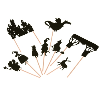 Shadow Puppet Castle Set
