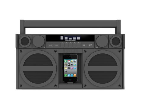 iHome iP4 Portable Boombox