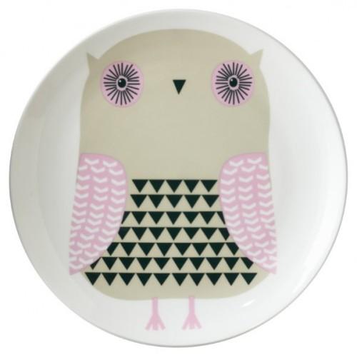 Donna Wilson Owl Plate