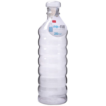Dci Re-Fill A Glass Water Bottle