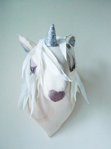 Wall Mounted Unicorn Head