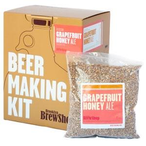 Beer Making Kit: Grapefruit Honey Ale