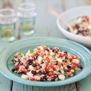 Black Bean, Corn and Quinoa Salad