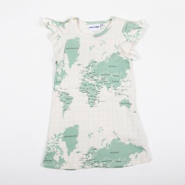 Map Wing Dress