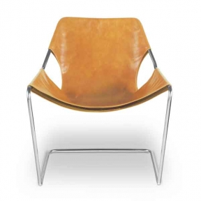 Paulistano Armchair, Whisky leather