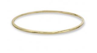The Glamazon Very Thin Bangle 18k Gold $595