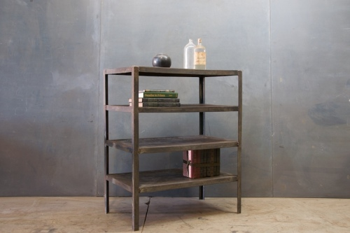 1855 Vintage Steel Mill Atelier Shelf