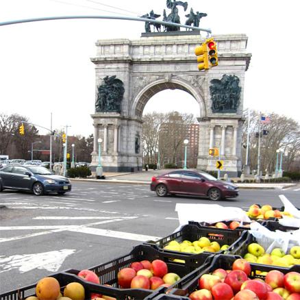 Saturday Green Market, Grand Army Plaza, Brooklyn