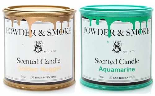 Powder and Smoke Candles