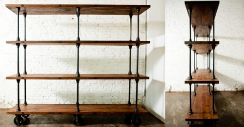 Vintage Industrial Shelves