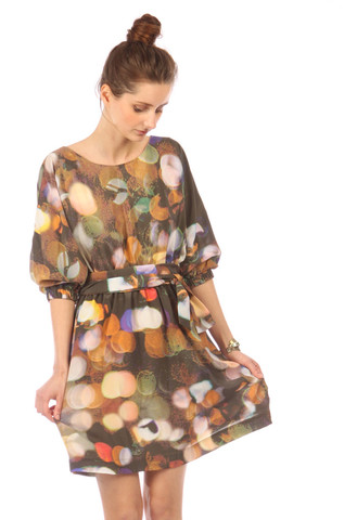 Ermie Dolman Sleeve Dress