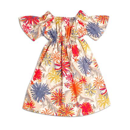 Deluna Kimono Dress