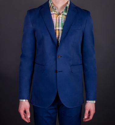 Seize Sur Vingt Bright Blue Jacket