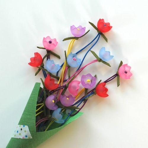 hello shiso tulip ponytail holder