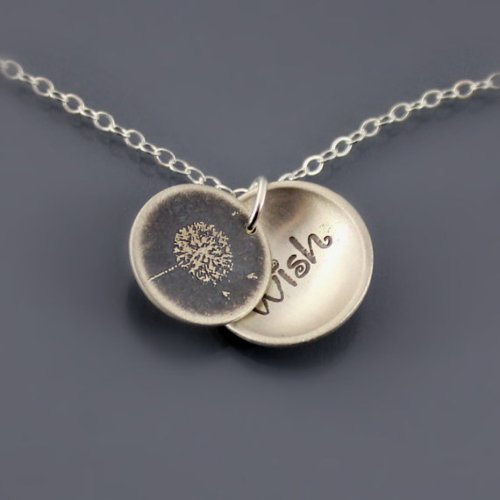 Lisa Hopkins dandelion necklace