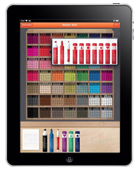 Scribble Press iPad App