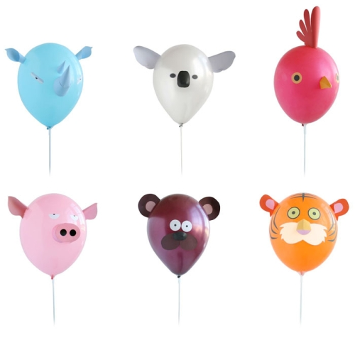 Héctor Serrano's Air Heads Animal Balloon Set