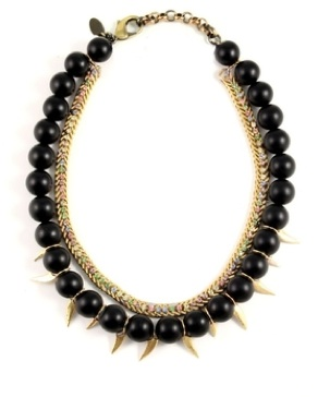 Bead & Thorn Necklace