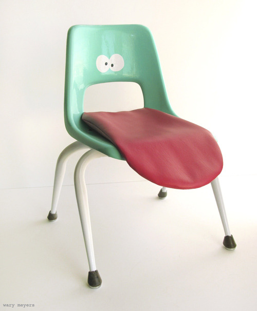 Wary Meyers Tongue Chair