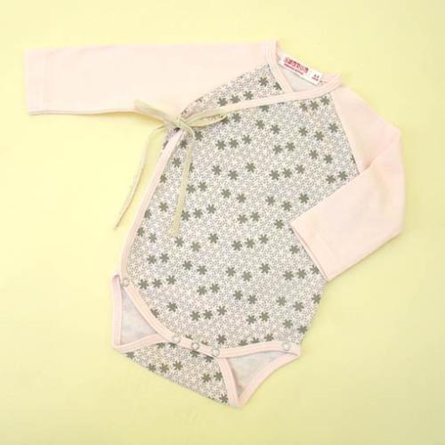 Sckoon Organic Cotton Japonesk Baby Kimono